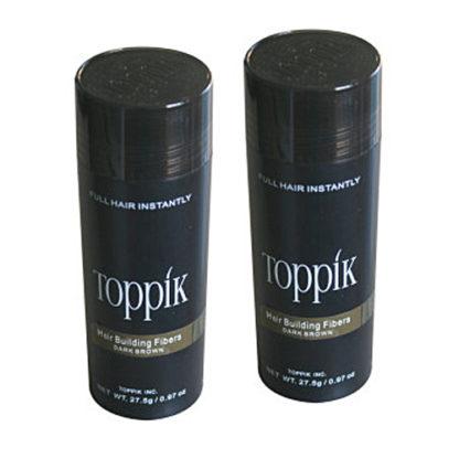 TOPPIK Hair-Building Fibres 55 gram Twin Pack